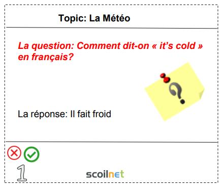 La Météo - French ie